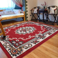 European Style Machine Woven Obi Pine Carpet Delicate Luxury Baroque High End Rug With Flowery Pattern