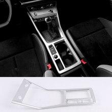 Ajuste para Audi Q3 F3 Sportback 2019 2020 2021, accesorios de decoración Interior de coche, consola ABS, Protector de palanca de cambios, embellecedor, 1 Uds. LHD