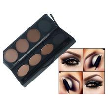4 Colors Professional Eye Shadow Palette Natural Matte Eyeshadow Makeup Cosmetics Eye Shadow Glitter Concealer Palette Cosmetic
