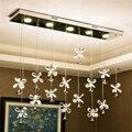 Современные светильники Led хрустальная люстра для спальни гостиной Декор Бар Регулируемые подвесные лампы освещение в лобби отеля подвесн...