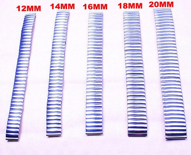 Wholesale 50pcs/lots high quality 12MM,14MM,16MM,18MM,20MM stainless steel Watch Bands watch strap-0304041 96pcs 130mm scroll saw blade 12 lots jig cutting wood metal spiral teeth 1 8 12pcs lots 8 96pcs