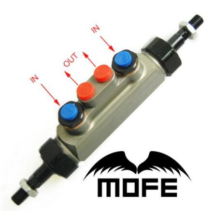 MOFE 0.7 Double Pump Tandem Master Cylinder for Hydraulic Handbrake For Honda Civic K10 7th Generation 01-05 mofe 0 7 tandem master handbrake cylinder hydraulic drift rally hand brake for racing car