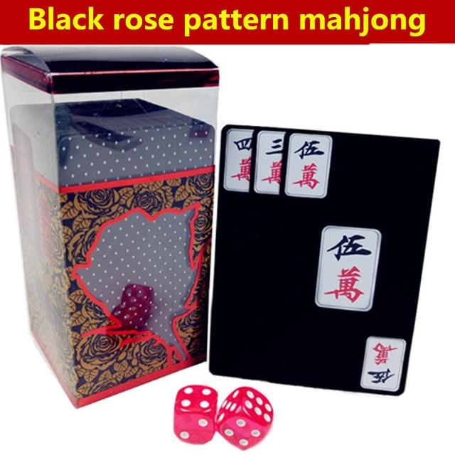 Juegos Mahjong Set Viajar Mah Jong 144 Tarjetas 2 Dados Chinos