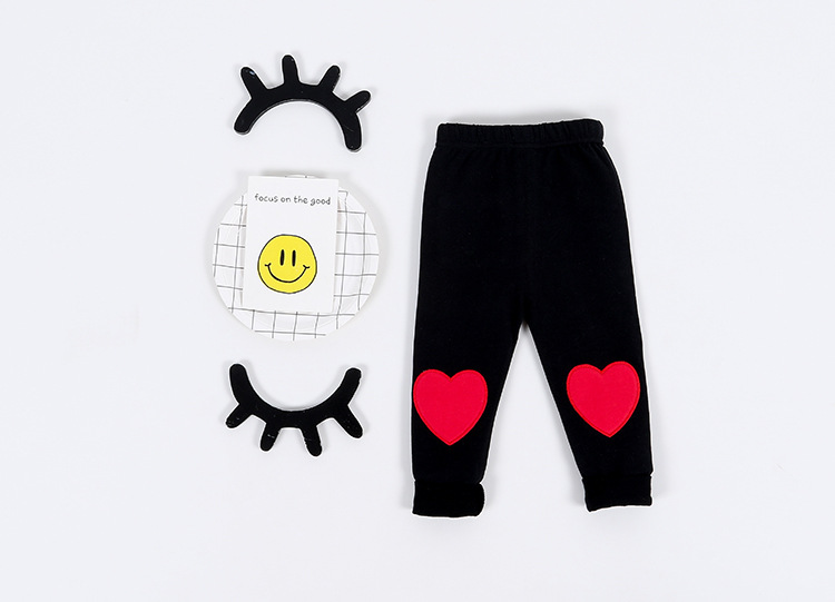 9bb1c2d81936 Autumn Winter New Arrival Heart Pattern Toddler Girls Clothing Baby ...