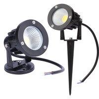 Nieuwe Stijl COB Tuin Gazon Lamp Licht 220 v 110 v 12 v Outdoor LED Spike Light 3 w 5 w 7 w 9 w Path Landschap Waterdichte Spot Lampen