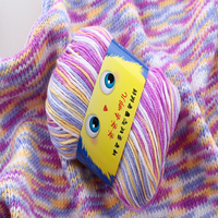 Best Quality 400g Set 8 Ball Baby Silk Cashmere Yarn For Hand Knitting Lover Scarves Knitting