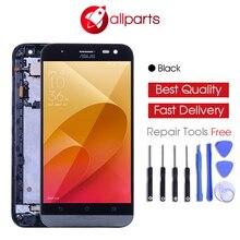 Купить онлайн Оригинальный 5,0 «HD ips ЖК-дисплей Замена для ASUS ZE500KG ЖК-дисплей Дисплей Zenfone 2 Laser ZE500KL Сенсорный экран планшета с рамкой