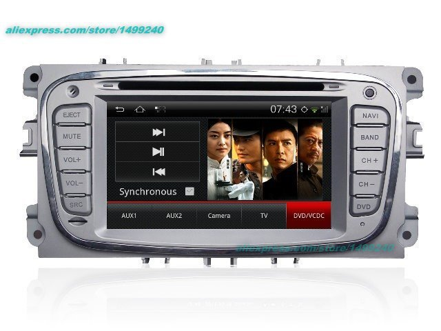 For Ford For Mondeo 2007~2011 - Car Android GPS Navigation Radio TV DVD Player Audio Video Stereo Multimedia System