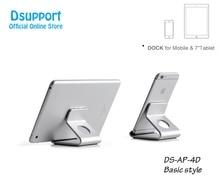 купить Aluminum Alloy Height Adjustable Double Arm 7-10 inch Tablet PC holder Desktop Clamping 360 Rotation Tablet PC Stand OA-2S недорого
