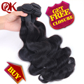 7A Unprocessed Brazilian Virgin Hair Body Wave 4Bundles Human Hair Bundles With Closure Body Wave