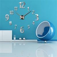 2016 hot sale wall clock diy reloj de pared modern design horloge murale large decorative clocks quartz watch living room brief