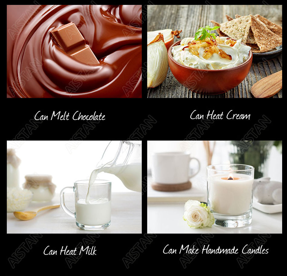 EH22/EH23/EH24 Electric Chocolate Stove Chocolate Melting Pot DIY Kitchen Tool of Catering Equipment 4