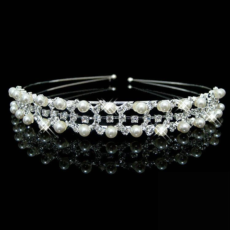 HTB12gGqKXXXXXcPXFXXq6xXFXXXV Romantic Bridal Bridesmaid Prom Crystal Pearl Charm Headband Tiara Crown - 15 Styles