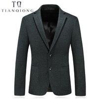 2018 New Men's Blazers Male Autumn Winter mens Classic Wool Blazer Jackets Homme Business Luxury Blazers for gentlemen M 4XL