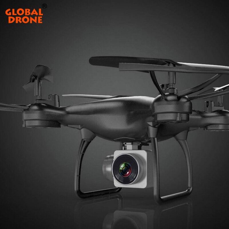 Mondiale Drone Profissional Hover Quadrocopter Gravité Capteur Longtemps Volez FPV Transmission En Temps Réel Drones avec Caméra HD 1080 p