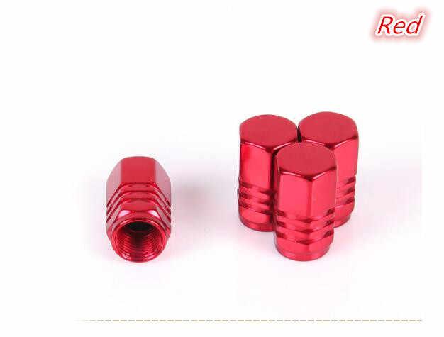 4 pçs/lote estilo do carro de metal roda pneu carro válvula 5 cores para porsche cayenne macan 911 panamera boxster 997 996 955