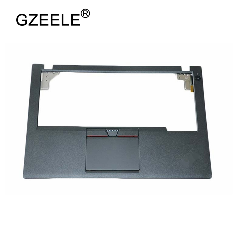 GZEELE NEW for Lenovo for ThinkPad X250 X250I X240 Palmrest Cover Upper Case 3 Three Keys Touchpad Cable 00HT391 black цена