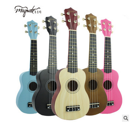 BAIYUAN direct sales of 21-inch color Youkeli small guitar four strings ukulele uke Lili children guitar andrew zebra in the 23 inches mr kerry wood small guitar beginners gray unisex ukraine lili