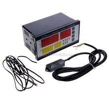 Temperatura Y Humedad Controlador Incubadora Automática Huevo Incubadora XM-18 4 Pantalla # H028 #