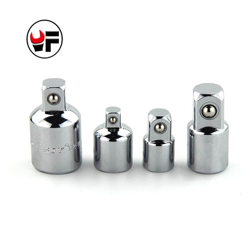 yofe 4pcs drive socket adapter converter reducer hand tools air impact craftsman ratchet socket wrench adapter