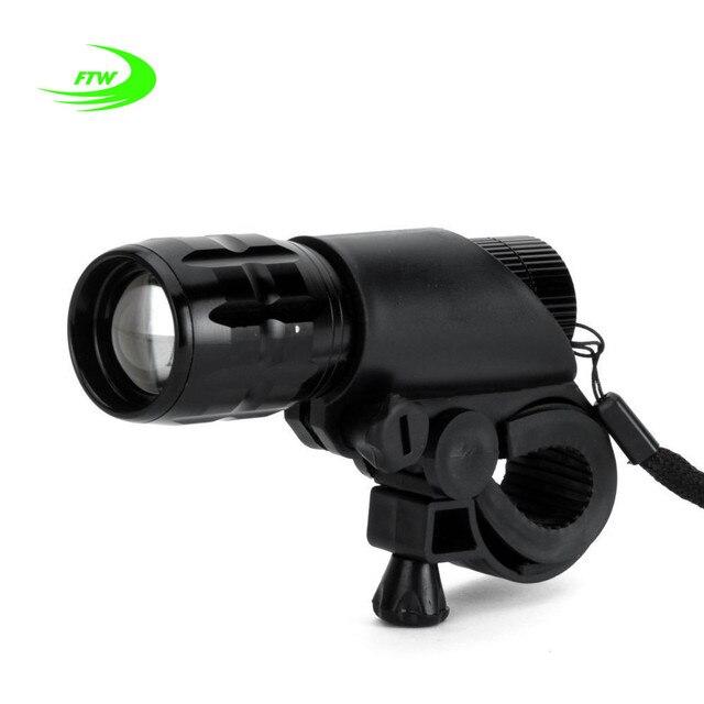 FTW Bisiklet Işık 7 Watt 2000 Lümen 3 Mod Bisiklet Q5 LED Bisiklet Işık ışıklar Lamba Ön Torch Su Geçirmez lambası + Torch Tutucu BL000