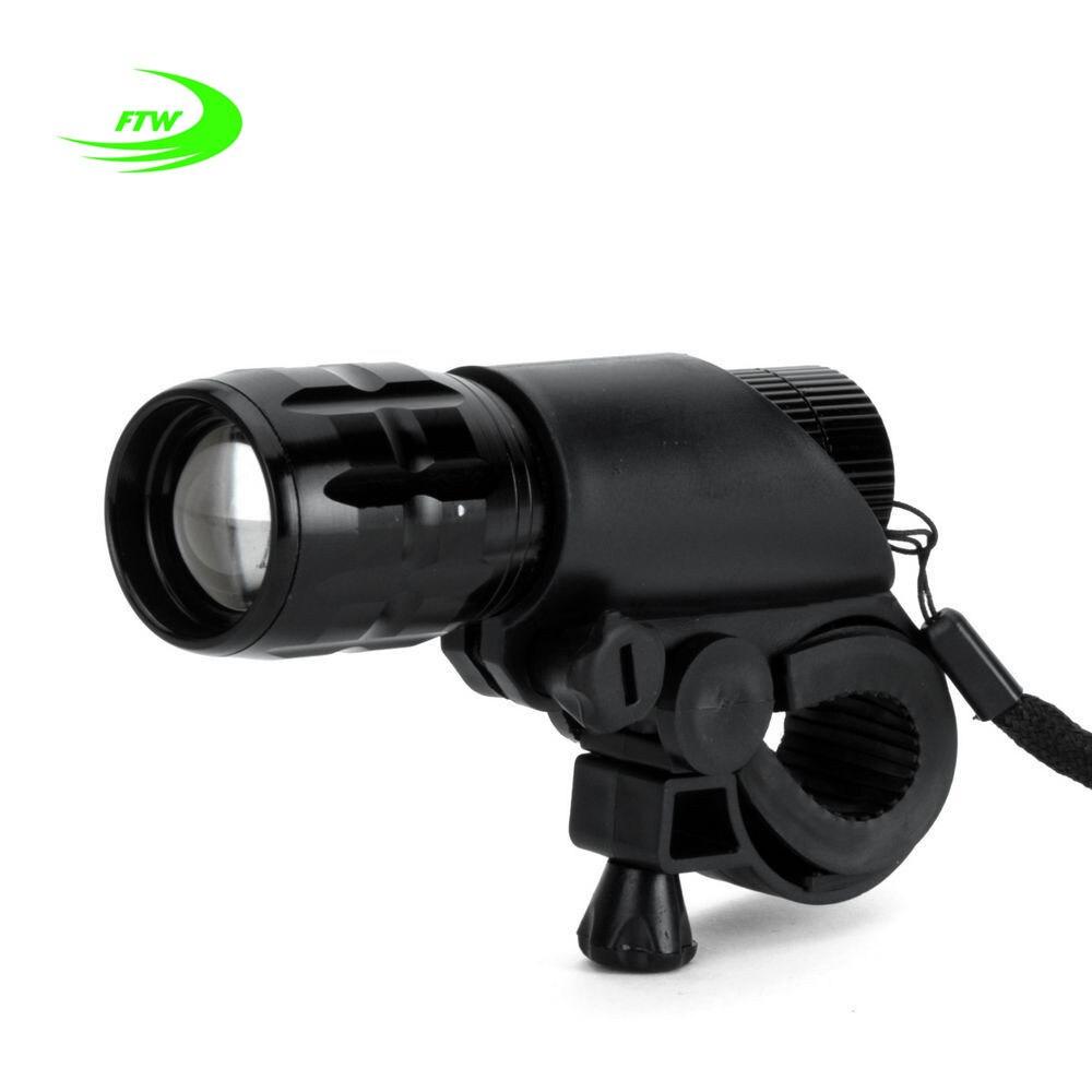 Ftw Велосипедные фары 7 Вт 2000 люмен 3 режима велосипед Q5 светодиодный свет велосипед свет лампы спереди факел Водонепроницаемый лампы + факел держатель bl000