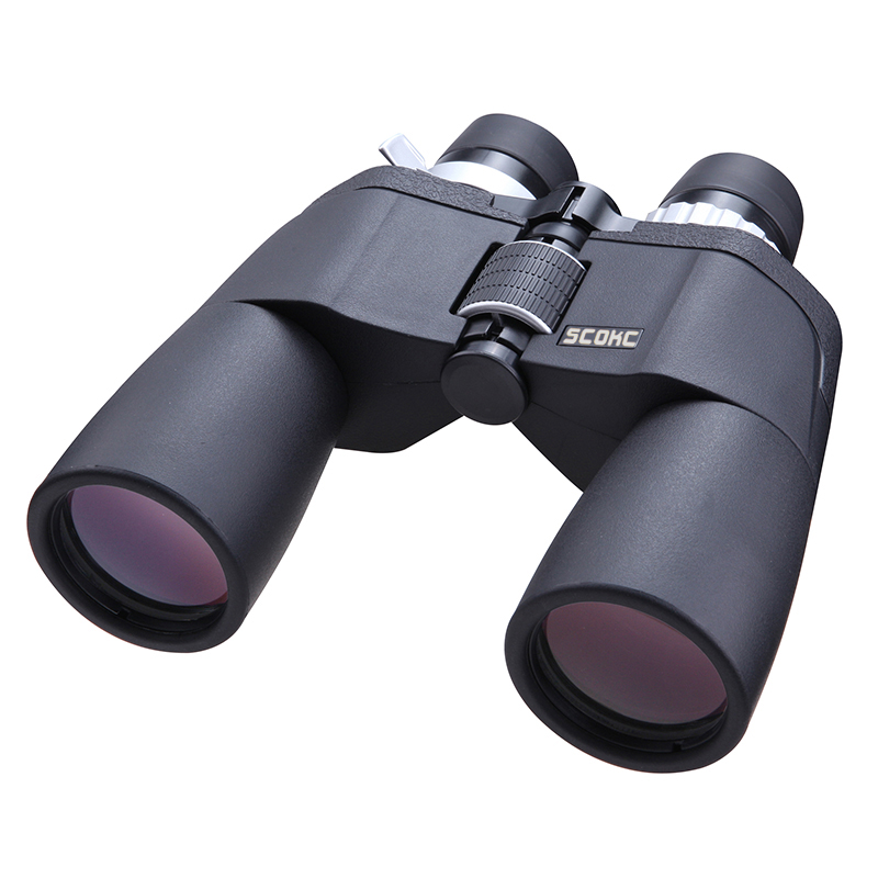 цена на SCOKC High Power Zoom 8-21X50 power zoom Binoculars BAK4 for hunting professional monocular telescope high quality telescope