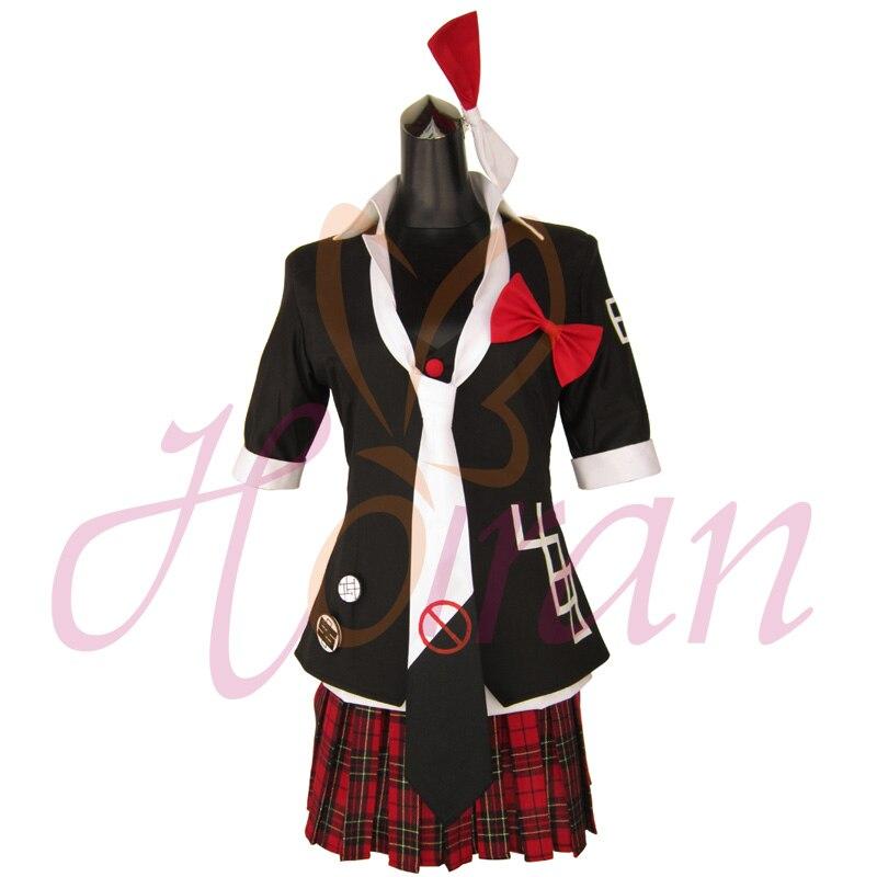 Danganronpa Dangan-Ronpa Enoshima Junko Dress Cosplay Costume