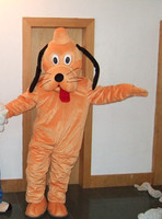 Goofy dog and Pluto mascot costume, adult size Goofy dog and Pluto mascot costume, fast shipping