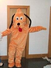 Goofy dog and Pluto mascot costume, adult size Goofy dog and Pluto mascot costume, fast shipping