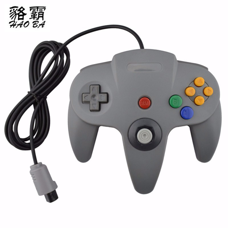 HAOBA 2 pcs/set Wired USB Controller For N64 Joystick