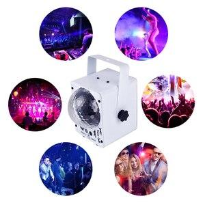 Image 3 - YSH ดิสโก้แสงเลเซอร์ RGB โปรเจคเตอร์ PARTY DJ Lighting Effect สำหรับขาย LED สำหรับตกแต่งบ้าน