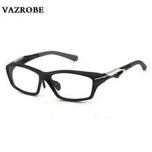 Vazrobe Quality TR90 Glasses Frame Men Sport Football/basketball Eyeglasses Frames Man Optical Lens Driving Goggles Myopia