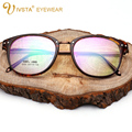 IVSTA TR90 Optical Frame Mens Eyeglasses Brand Gold Alloy glasses Frames Precription Women Lense Flexible plastic titanium 2555