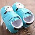 Cartoon Baby Shoes Leather Baby Moccasins Newborn Baby Soft Bottom Shoes Boytoddler First Walkers	YEW327
