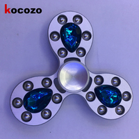 Fashion Diamond Hand Spinner Fidgets EDC Fidget Spinners For Autism And ADHD Auxiety Stress Relief Focus Gyroscope Toys Gift