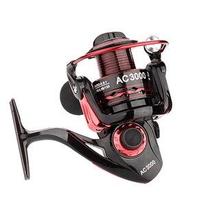 Image 1 - YUYU Metal Fishing Reel Spinning Reel for carp fishing metal spool 1000 2000 3000 4000 5000 6000 Ratio 5.5:1 Fishing Tackle