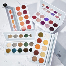 GIVENONE New Arrival 10 color Charming Eyeshadow Palette Make up Matte Shimmer Pigmented Eye Shadow Powder 4
