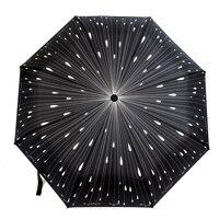 Direct 21 Inch 8 Bone Bone Fiber Automatic Meteor Shower Full Automatic Umbrella Amazon Best