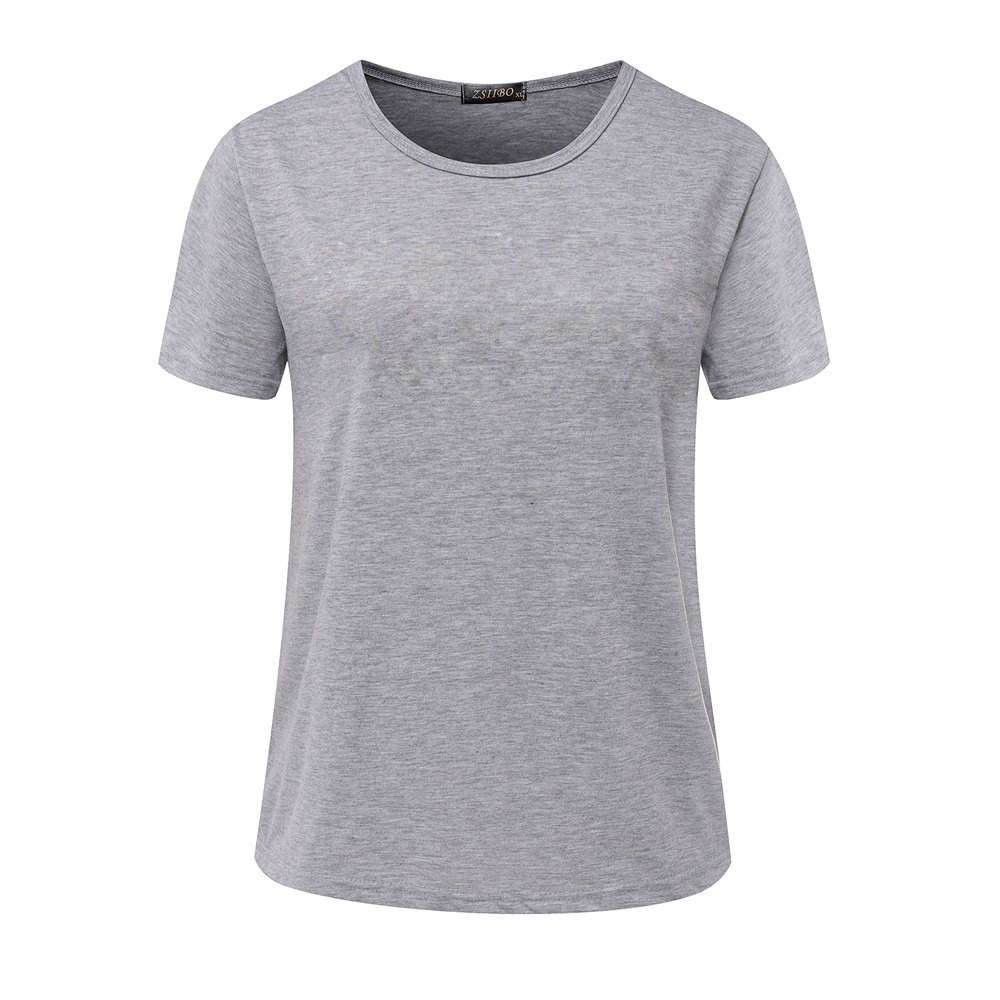 48e92f9f5f5d High Quality S 3XL Plain T Shirt Women Cotton Elastic Basic T Shirts ...