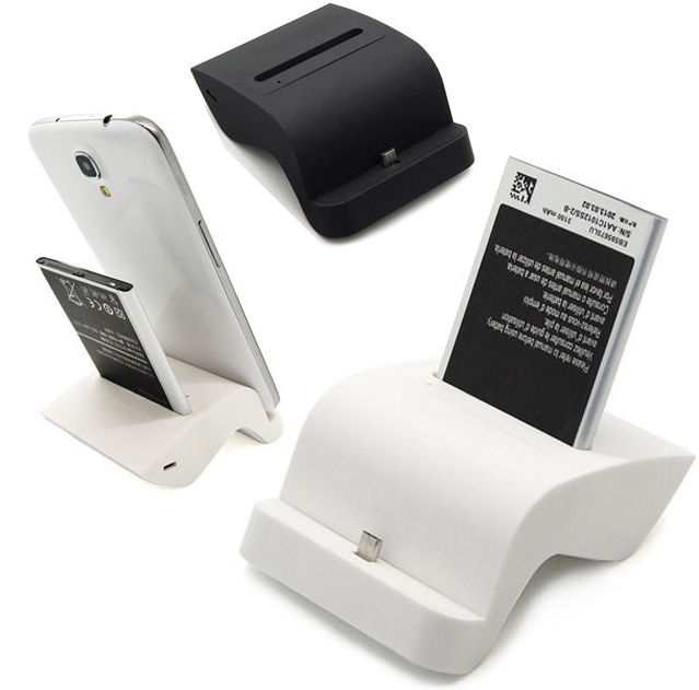 Dual Charging Cradle Dock Holder Phone Battery Charger For Samsung Galaxy S6 S5 S4 Note 2 3 4 5Mega 6.3