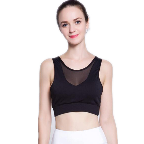 78c1a4af5c Sexy Backless Sports Bra Top Fitness Bras Women Strappy Brassiere Sports  Top Vest Gym Padded Yoga Bras Push up Running Underwear