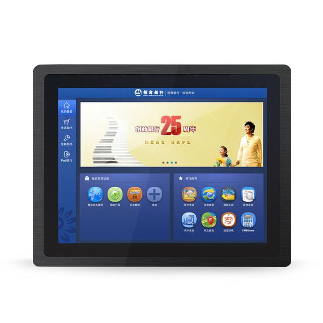 """Frete Grátis! 10.1 """"Aberto Monitor de Armação Toque À Prova D' Água 4 fio resistivo touch screen monitor LCD com DVI, USB, porta VGA"""