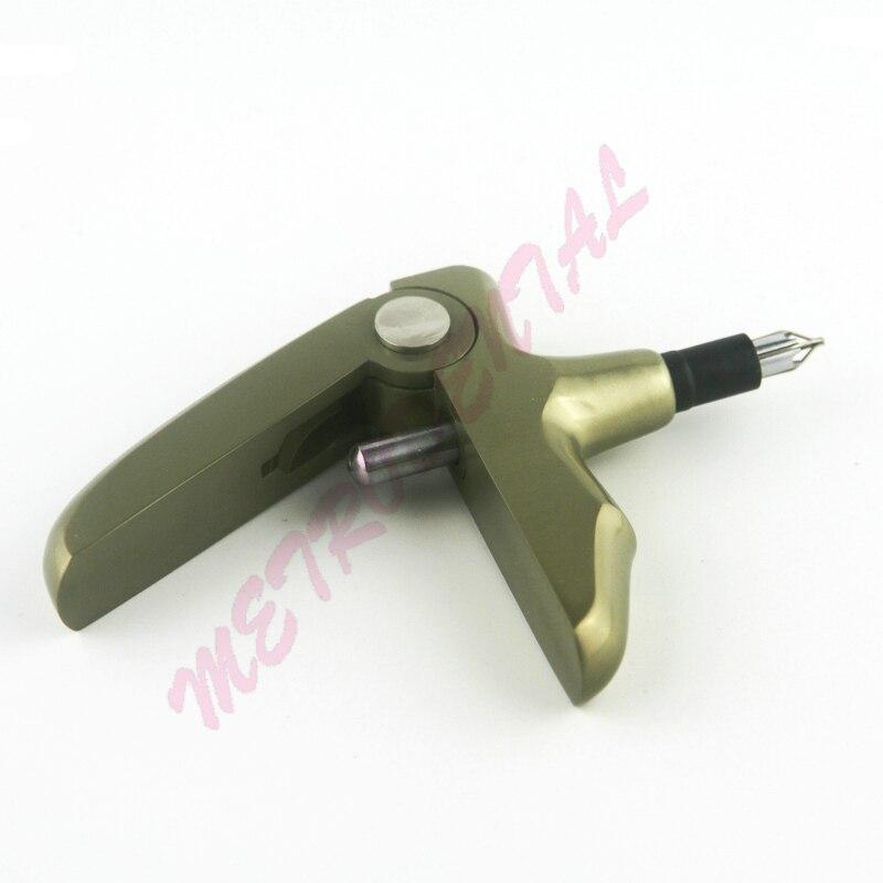 1pcs High Quality Autoclavable Dental Stainless Steel Orthodontic Ligature Gun Dispenser for Ligature Tie