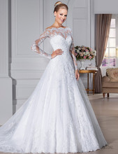 Сшитое совок see through noiva аппликация бисером кнопку vestido назад свадебное