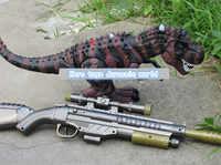Hohe-tech Jurassic welt Sniper gewehr infrarot fernbedienung RC leucht sounding Tyrannosaurus rex dinosaurier spielzeug modell kinder spielzeug