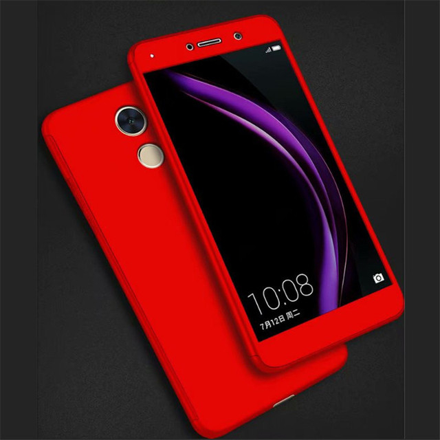official photos e8eb4 55f11 US $4.74 5% OFF|Howanni 360 Full Protector Phone Case For Huawei Y7 Prime  Case PC 5.5 Inch Cover For Huawei Y7 Prime Cover Phone Shell Capa-in Fitted  ...