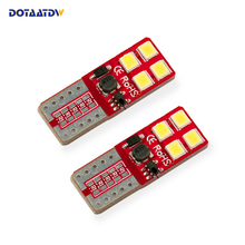 DOTAATDW 2x T10 W5W LED Bulb 3030 SMD 168 194 Car Accessories Clearance Lights Reading lamp Auto 12V White Crystal Blue