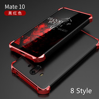 3 In 1 Case For Huawei Mate 10 Case Cool Fashion Hard PC 360 Anti Knock