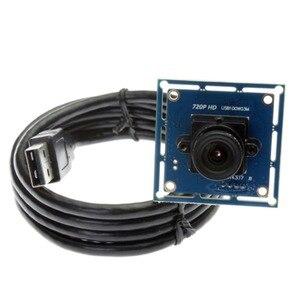 Image 3 - ELP Mini 720Pเว็บแคมUSBโมดูลกล้อง 1.0 ล้านพิกเซลCMOS OV9712 HDฟรีไดร์เวอร์กล้องอุตสาหกรรมสำหรับ 3Dเครื่องพิมพ์,เครื่องVision